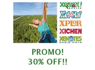 Discount coupons Experiencias Xcaret