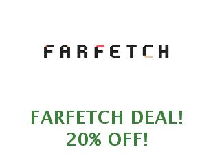 Promotional offers and codes FarFetch save up to 30%