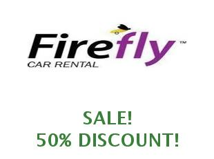 Discount code Firefly Car Rental