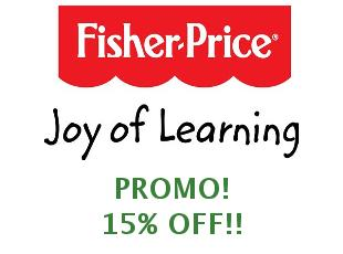 Promotional offers and codes Fisher Price save up to 20%