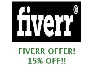 Discounts Fiverr save up to 20%
