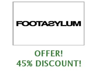 Discount coupon Footasylum save up to 20%