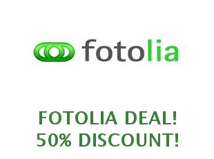 Promotional codes and coupons Fotolia save up to 20% off