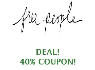Promotional code Free People save up to 20%