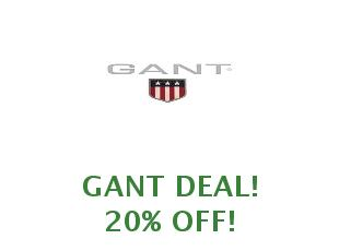 Promotional code Gant save up to 30%