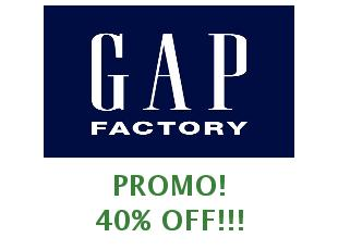 Coupons GAP Factory save up to 30%