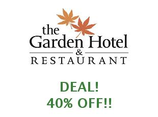 Coupons Garden Hoteles 10% off