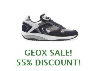 Promotional offers and codes Geox