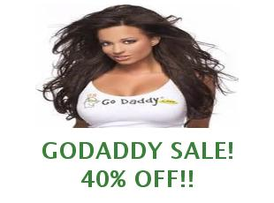 All discount coupons GoDaddy