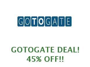 Promotional Codes And Coupons Gotogate Save Up To 15