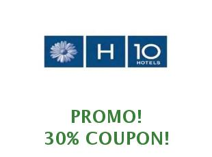 Discount coupons H10 Hotels