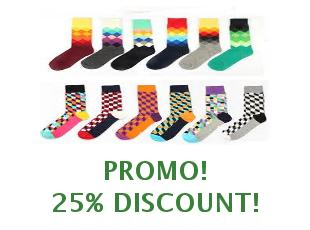 Discount coupon Happy Socks 20% off