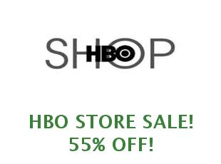 Discount coupon HBO Store save up to 20%
