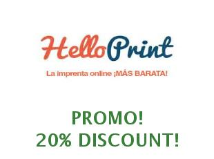 Promotional codes and coupons Hello Print