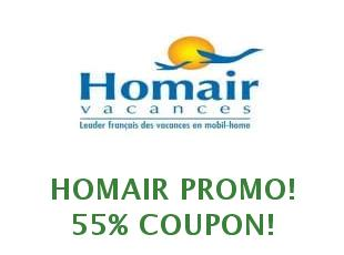 Discounts Homair: Campsites in France, Italy, Croatia and Spain