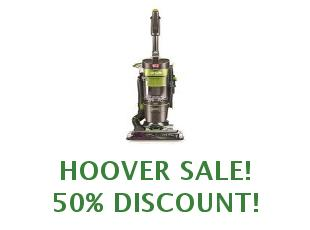 Promotional codes and coupons Hoover save up to 25%