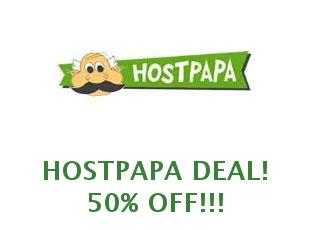 Coupons Hostpapa save up to 15% off