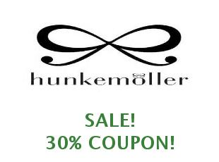 Discount coupon Hunkemöller save up to 30%