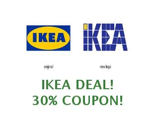 Promotional offers and codes IKEA save up to 50%