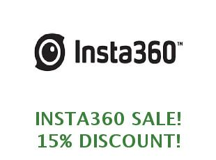 Discount coupon Insta360 save up to 25%