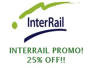Coupons Interrail 20%