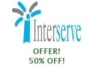 Discount coupon Interserver save up to 50%