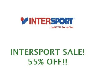 Promotional codes and coupons Intersport 10% off