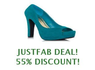 Promotional code Justfab save up to 35$