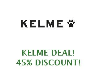 Coupons Kelme save up to 15%