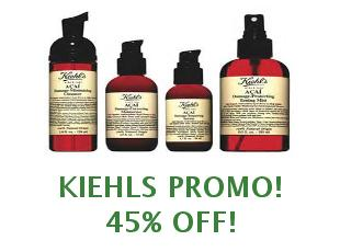 Promotional codes Kiehls