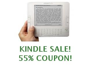 Promotional codes and coupons Kindle save up to 35%