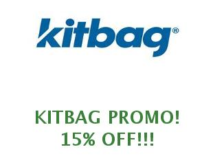 Promotional code Kitbag save up to 15%
