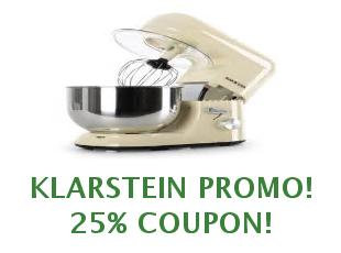 Promotional codes and coupons Klarstein save up to 10%