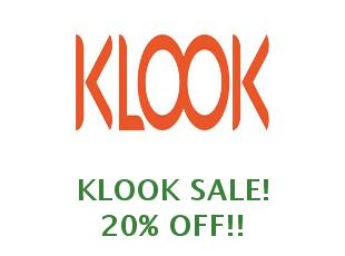 Discount code Klook save up to 60%