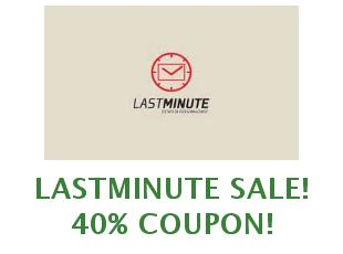 Discounts Lastminute save up to 60 euros