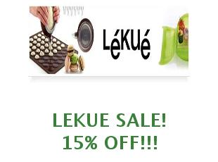 Promotional codes and coupons Lekue save up to 20%