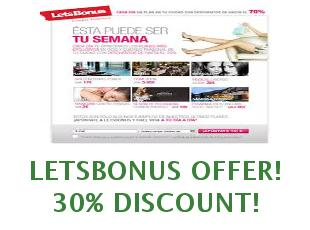 Promotional codes LetsBonus save up to 30%