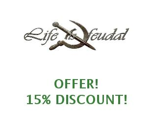 Discount code Life is feudal save up to 25%