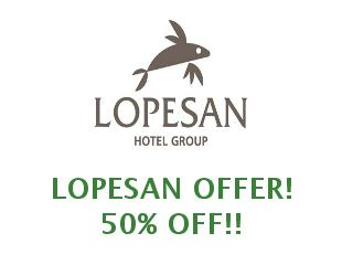 Coupons Lopesan save up to 15%