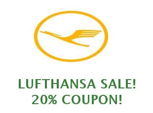 20 euros discounts at Lufthansa