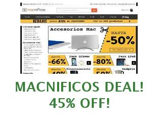 Discount code Macnificos save up to 89 euros
