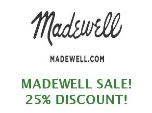 Promotional codes and coupons Madewell save up to 30%