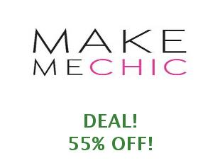 Discount code Make Me Chic 30% off