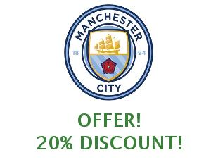Discount coupon Manchester City save up to 10%