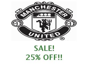 Promotional codes Manchester United