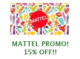 Discounts and coupons Mattel save up to 40%