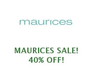 Coupons Maurices 25% off