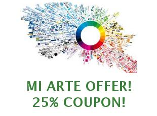 Coupons Mi Arte save up to 50%
