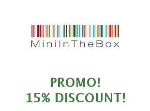 Discount coupon $20 off Mini in the box