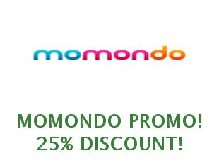 Discounts Momondo save up to 20%